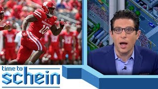 Aaron Taylor talks College Football drafts | Time to Schein