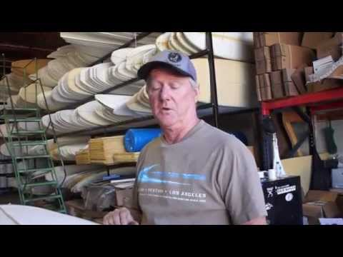 Vacuum Bag Surfboard Delamination Repair