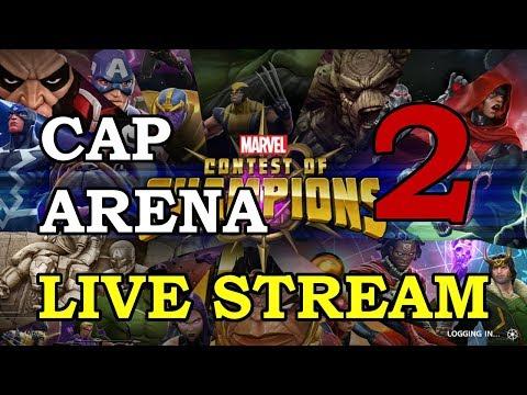 Cap Arena - Part 2 | Marvel Contest of Champions Live Stream