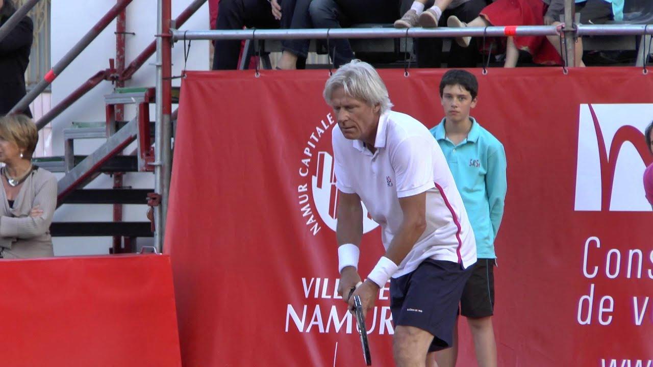 Björn Borg vs Henri Leconte June 2013