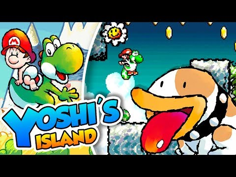 ¡POOCHY! - #03 - Yoshi's Island (SNES mini) DSimphony