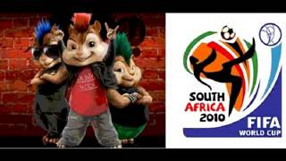Alvin and the Chipmunks Wavin Flag (FIFA WM 2010 Song).flv