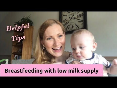 DEALING WITH LOW MILK SUPPLY | MY BREASTFEEDING JOURNEY thumbnail