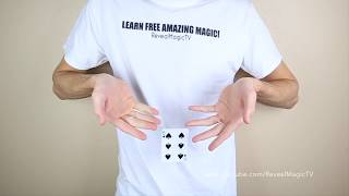 3 EASY Ways to Levitate Cards (Objects) - Magic Tricks REVEALED