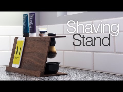 Simple DIY Shaving Stand | Easy Woodworking Projects