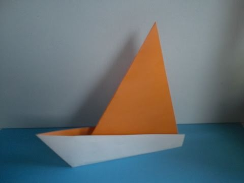 Origami Segelboot Youtube
