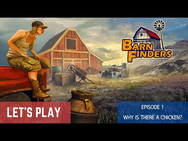 BarnFinders - PC gameplay | Story mode - Episode 1: Why is there a chicken?