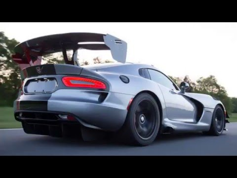 2017 Dodge Viper Gts With Luxurious Design