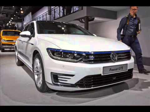 All New 2015 Volkswagen Passat Gte Sedan 2014 Paris Motor Show