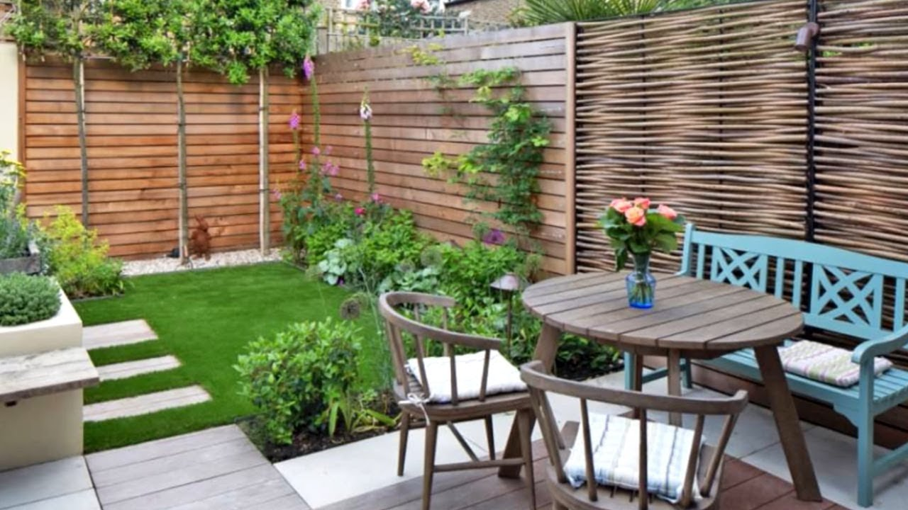 34 Budget Ideas For Small Outdoor Spaces Youtube
