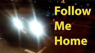 Hidden feature of the Saab 9-5: Follow Me Home - Trionic Seven Quick Tip