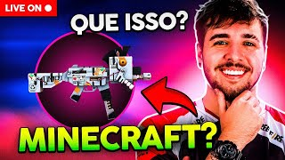 LIVE ON! VIROU MINECRAFT ?! FLUXO OU LOUD WEEDZAO? FREEFIRE AO VIVO!
