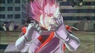 Vegito Black (Super Saiyan Rosé) Custom Moveset | Dragon Ball Xenoverse 2 Mod