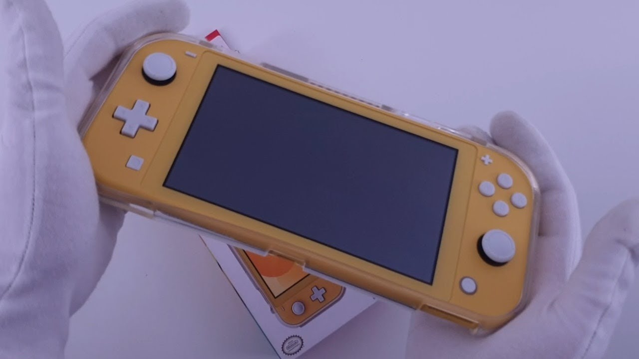 Hori Duraflexi Protector Nintendo Switch Lite Unboxing Youtube