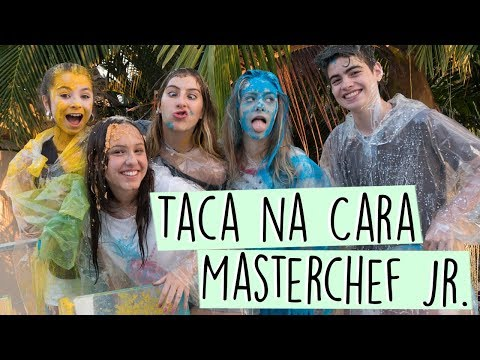 Taca na Cara Masterchef Jr. ft. Ivana, Edu, Sofia e Livia    Valentina Schulz