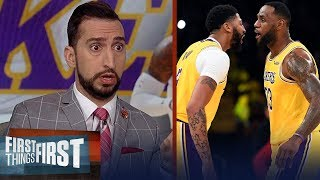The gap between the Lakers and the rest of the West is enormous - Nick | NBA | FIRST THINGS FIRST