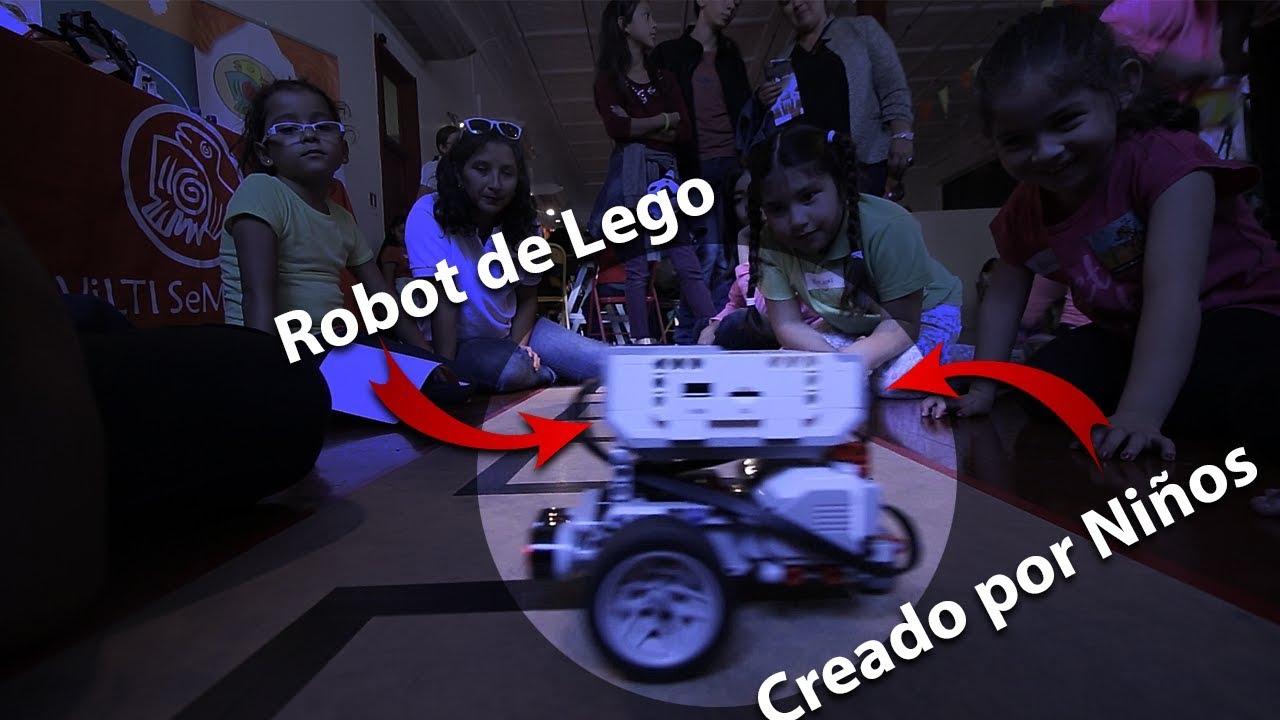 Niños Construyen Robots de Legos | @puertodeideas vlog4