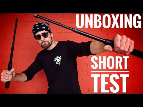 Best Expandable Baton In The World? (Unboxing/Short Test)