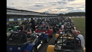 60 Years of the 7 -  Way to Donington Park Circuit