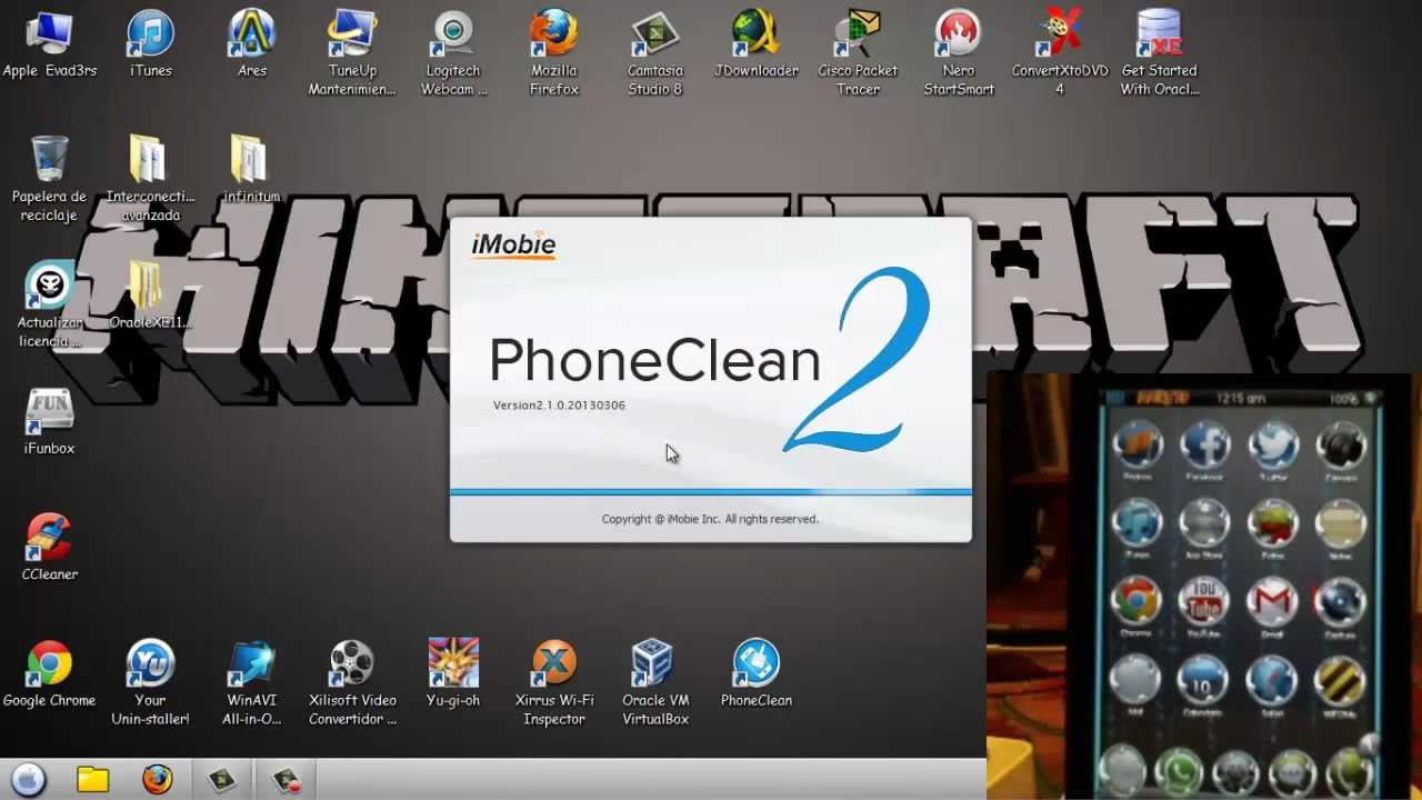 PHONECLEAN WINDOWS TÉLÉCHARGER