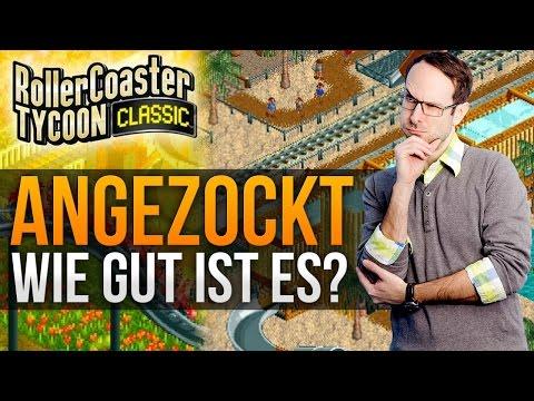 RollerCoaster Tycoon Classic - Wie Gut Ist Es? (Angezockt)