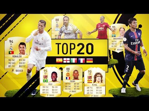 FIFA 17 | TOP 20 MEJORES JUGADORES POR LIGA ... Y MÁS :P