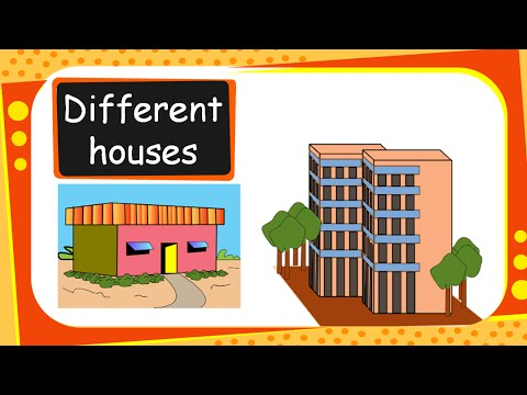 Science different types of houses and building materials for Different kinds of houses