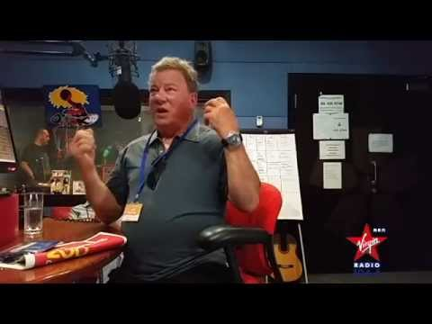 William Shatner talks about Trek, Dubai, Branson, and Pantyhose