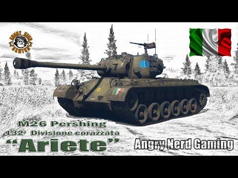 "War Thunder: M26 ""Ariete"", Italian, Tier-4, Premium Medium Tank"