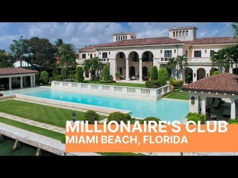 Miami Beach Millionaire's Club: Tour Breathtaking Mansions