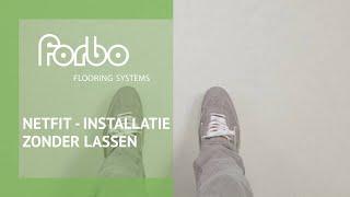 Forbo Linoleum Installatievideo zonder Lassen