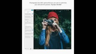 Best Wordpress Responsive Photography Theme