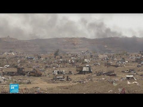 سوريا: مقاتلون من تنظيم -الدولة الإسلامية- يسلمون أنفسهم غداة انهزام -الخلافة-