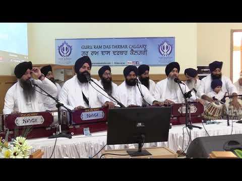 Ohna Piaara Rabh Ohna Jogiee - Bhai Nirmal Singh Nagpuri At Guru Ram Das Darbar, Calgary
