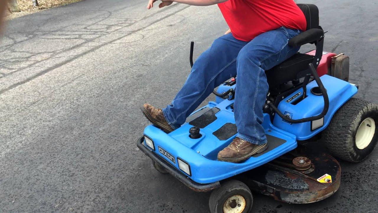Dixon Ztr45 Riding Mower Sold On Els