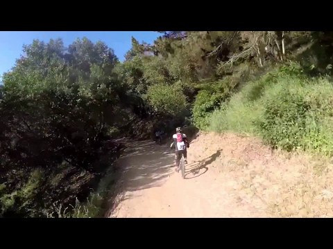 Mountain Biking at Redwood regional park to Oakland hills 5/6/17
