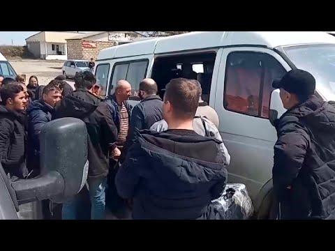Сотни азербайджанцев застряли в Дагестане и не могут вернуться домой