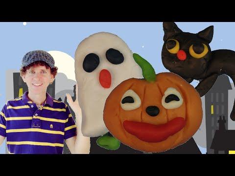 Halloween Actions Song For Kids | Walk Like A Ghost | PreSchool, Kindergarten