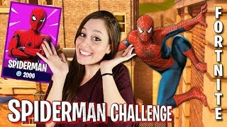 SPIDERMAN CHALLENGE - Chi vincerà più sfide? Fortnite ITA * NUOVA SKIN SPIDERMAN *