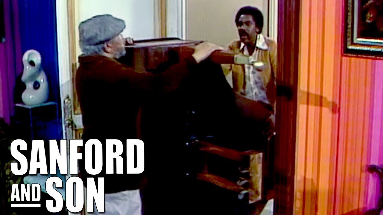 Fred and Lamont Move A Piano | Sanford and Son