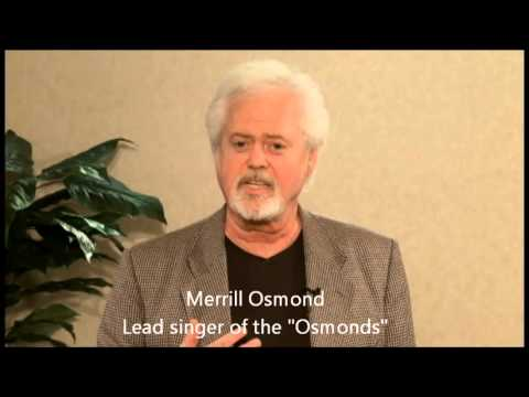 Merrill Osmond and the Olive Osmond Hearing Fund