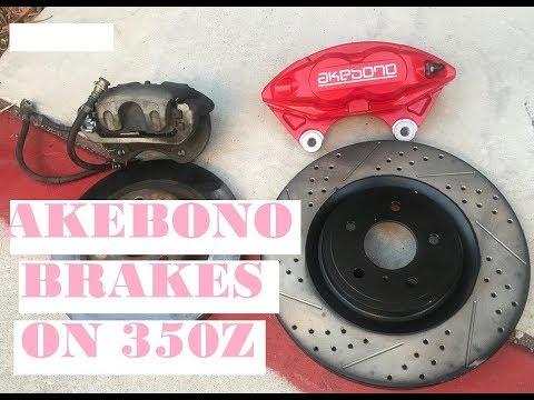 Installing akebono bbk on 350z + how to flush/bleed brakes on 350z/g35