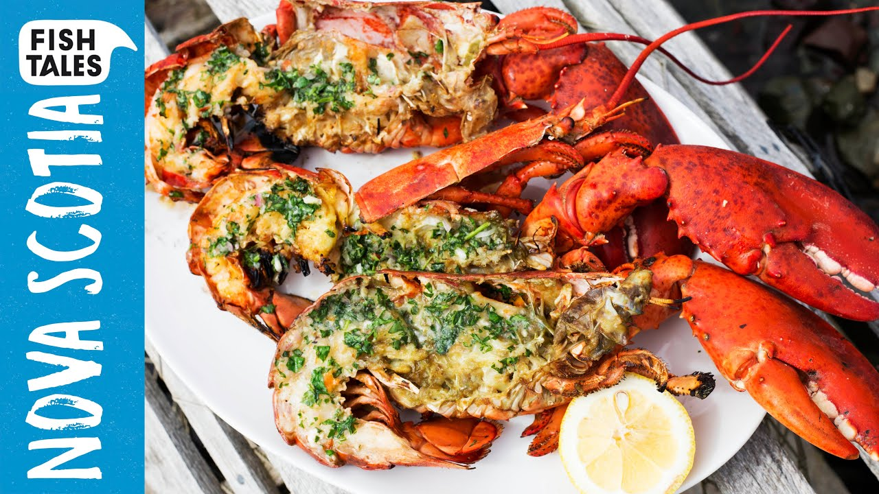Grilled lobster tail recipe youtube for Fish tale grill