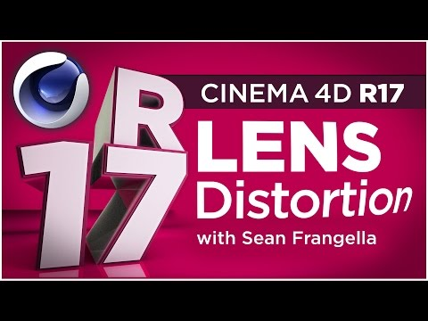 Cinema 4D R17 - Lens Distortion Tool for Tracking Wide Angle Footage - Sean Frangella