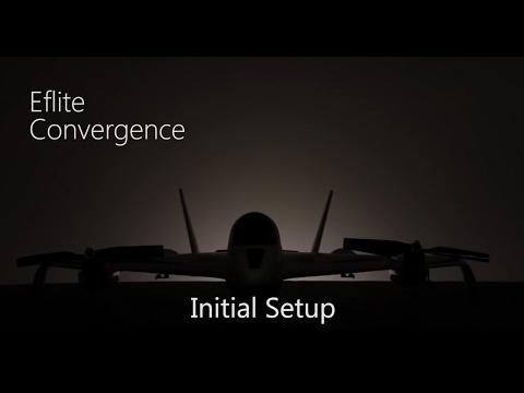 E-flite Convergence VTOL Tutorial - Initial Setup