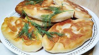 Ереванские Пирожки из детства. Жареные Пирожки с картошкой. Идеальное дрожжевое тесто на кефире.