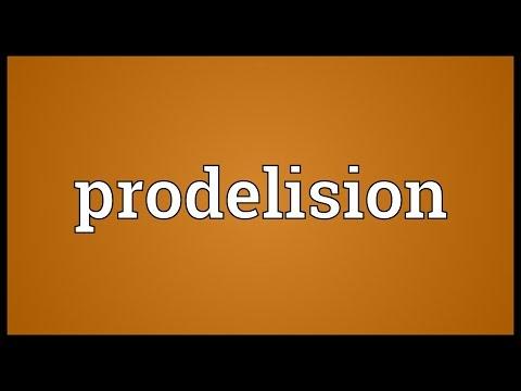 Header of prodelision