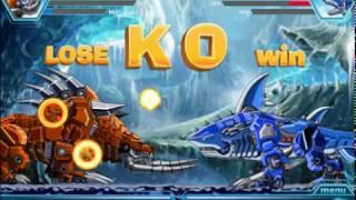 Мультик игра Роботы динозавры: Робот акула (Robot shark)