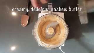 How To Make Cashew Butter (vegan, Gluten Free And Paleo)