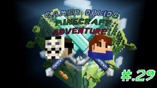 Minecraft: Gamer Druids EP 29: Bonjour Mon Ami!